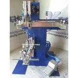 Maquina Semiautomatica Cilindrica Para Serigrafia,