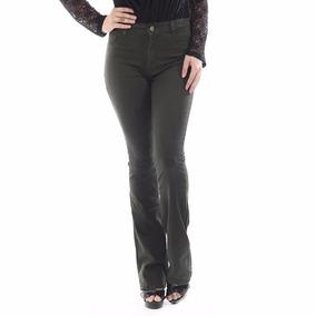 Calça Jeans Feminina Flare Hot Pants 248531 Sawary