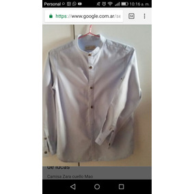 Camisa Cuello Mao Zara Boys
