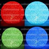 Esfera Vela Led Grande Centro Centro De Mesa Cotillon Lumino