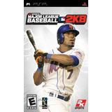 Major League Baseball 2k8 Sony Psp