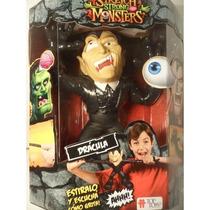 Stretch Strong Monsters Dracula Muñeco Que Se Estira