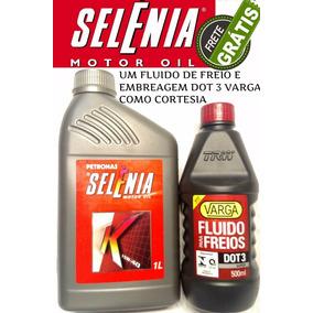 Kit 3 Óleo Motor Petronas Selénia K 15w40 Semi Sintético Sm