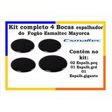 Kit Completo 4 Bocas Espalhador Do Fogão Esmaltec Mayorca