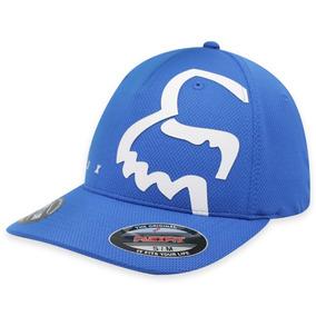 Gorra Fox Eyecon Flexfit ! Azul fd746a4a750