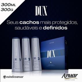 Kit Manut. Dux 900 Ml - Cabelos Cacheados - Anuar Cosmeticos