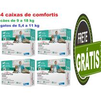 Anti-pulgas Comfortis Cão De 9 A 18 Kg ,gato De 5,4 A 11 Kg