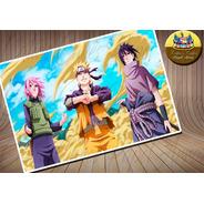 Naruto The Last Papel De Arroz Comestível A4 20x30cm