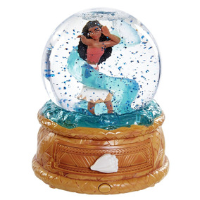 Bola De Cristal Con Caja Musical Y Joyero Disney Marca Moana