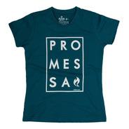 Camisa Cristã Baby Look Promessa 55004