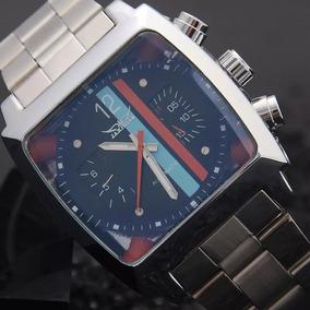 Relógio Masculino Aviador Quadrado Clássico Luxo Promoção!!!