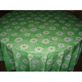 mantel plstico para mesa redonda medida x