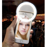 Aro De Luz Led Para Celular Selfie Iphone Android Y Fotos