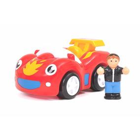 Wow Fireball Frankie Personaje Con Auto Carrera Educando