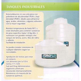Tinaco Cisterna Fortoplas 5000 Litros, Vea Descripción