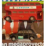 Jueguetes Antiguos De Coleccion Bus Y Taxi De Londres