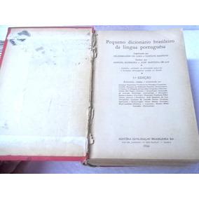 Dicionario Lingua Portuguesa 1944 Raro Bom Estado