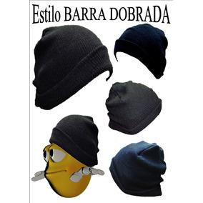 Touca Gorro De Lã Preto Oversized Beanie Básica Frio Inverno 36ef9dc2880