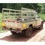 Camioneta Toyota 4x4 Cabina Simple Con Baranda Land Cruiser