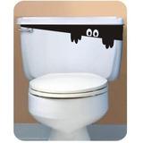Adesivo Espião Decorativo Banheiro (na Compra De 2 Leva 3)