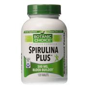 Spirulina Plus 500mg, 120 Tabletas, I - Unidad a $1