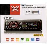 Toca Mp3 Carro + Usb Sd Aux Rca Radio Fm Similar Pioneer
