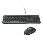 Kit Teclado E Mouse Usb Mk120 Logitech