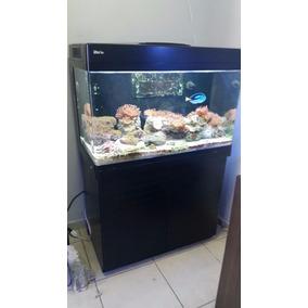 Aquario Marinho Red Sea Max 250 Reef Completo + Movel Semi-n