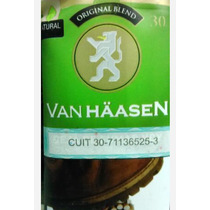 Tabaco Van Haasen Original Blend 30gmos. X 10 Unidades