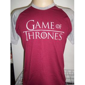 Camiseta Game Of Thrones Manga Raglã