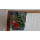 Caja Navideña Servilleta Alemana Santa Claus Manualidad