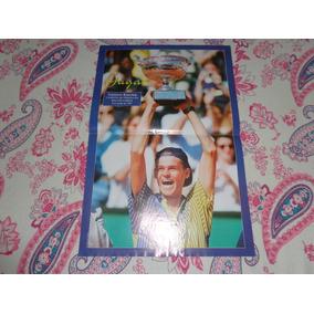 Poster Do Tenista Guga (gustavo Kuerten)