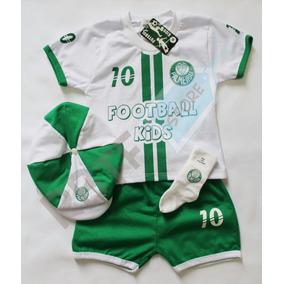 Conjunto Palmeiras Bebe - Conjuntos Meninos Branco de Bebê no ... 3f63e094e1505