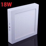 Lampara 18w Led Panel Ojo De Buey Buey Sobreponer Techos !!!