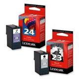 Cartuchos De Tinta Lexmark 18c1523 / 24