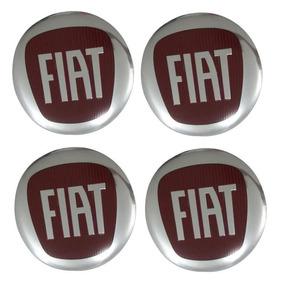 Jg Emblema Fiat 117mm Altorelevo P/ Calota Scorro S172 S181