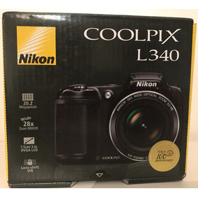 Camara Nikon Coolpix L340 20,2mp 28x Hd Sup B500