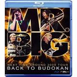 Blu-ray Mr . Big Back To Budokan (import) Novo Lacrado