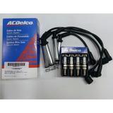 Kit De Cables Y Bujias Chevrolet Clasic / Corsa 1.4 1.6 8v