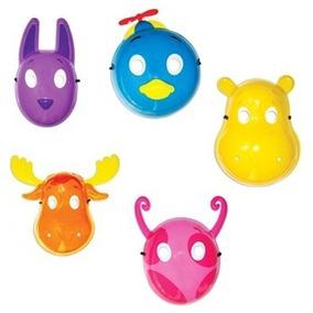 Kit Com 10 Máscaras Backyardigans