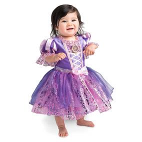 Vestido Rapunzel Bebe 3-6 Meses Disney Store
