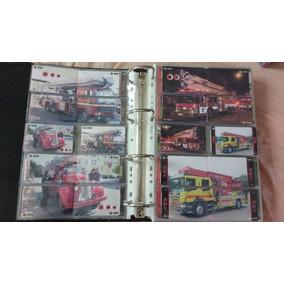 Coleção 876 Cartões Telefônicos Tema Corpo Bombeiros - China
