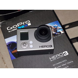 Gopro Hero 3 Black Edition 3 Baterias+ Accesorios Impecable