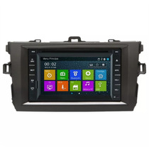 Kit Multimidia Corolla Tela 8 Gps Tv Dvd Bluetooth