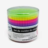 Set Silicon Molde 12pz Hornear Cupcake 97093 Good&good