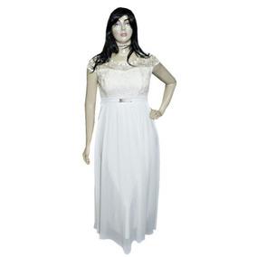 Vestido Evangélico Madrinha Plus Size Roupa Feminina Sd1761