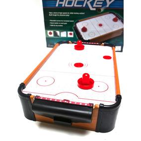 Juego Mesa De Air Hockey Portatil Premium Precio Importador
