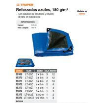 Lona Reforzada 6 X 12 Metros Azul