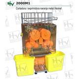 Máquina Exprimidora De Jugo De Naranja En Acero Henkel