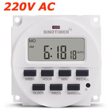 Temporizador, Timer Programable Automático 220 Vac O 12 Vdc